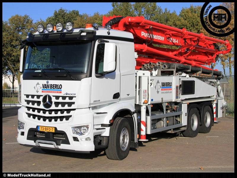 Van Berlo Vloeren : Modeltruckholland truckfotografie van berlo 2014